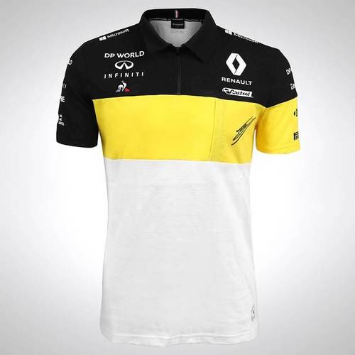Photo of Esteban Ocon 2020 Signed Renault F1 Team Polo Shirt