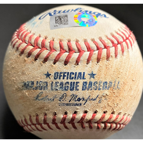 Photo of Game-Used Baseball: Anthony Rizzo Chicago Cubs RBI Single (MLB AUTHENTICATED)