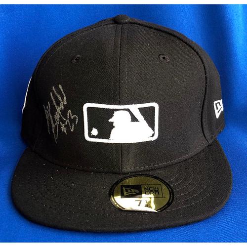 Photo of UMPS CARE AUCTION: 2019 World Series Lance Barksdale Signed MLB Base Cap, 7 1/8