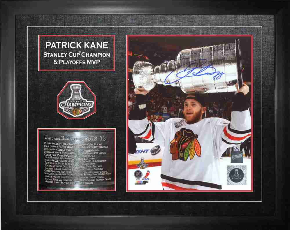 Patrick Kane - Signed & Framed 16x20