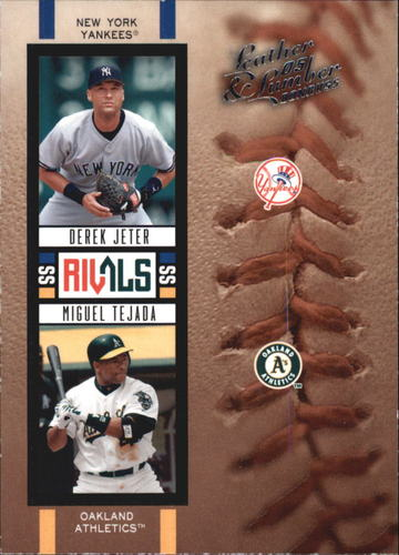 Photo of 2005 Leather and Lumber Rivals #11 D.Jeter/M.Tejada