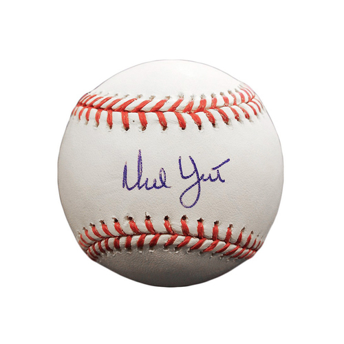 Ned Yost Autographed Baseball