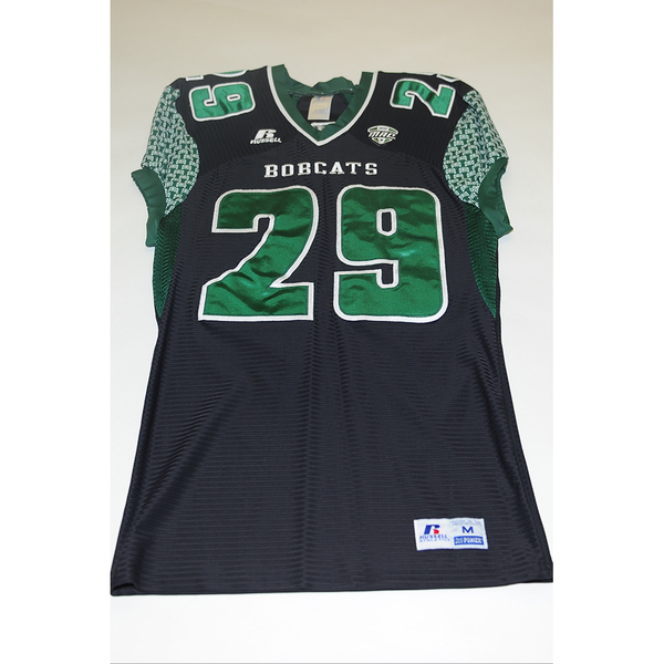 Photo of # 29 - Official OHIO BOBCATS Game Worn Football Jersey (2011) - SIZE MEDIUM