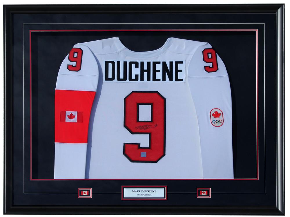 Matt Duchene-  Framed Signed Team Canada Jersey