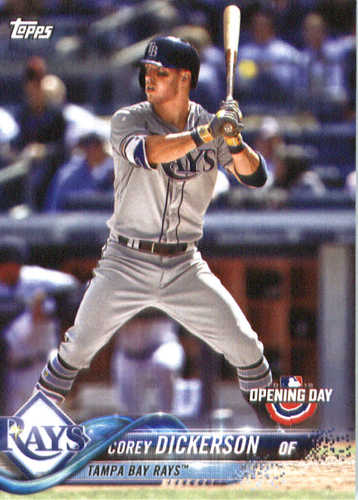 Photo of 2018 Topps Opening Day #98 Corey Dickerson