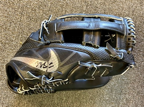 Photo of Mike Trout Autographed Fielding Glove