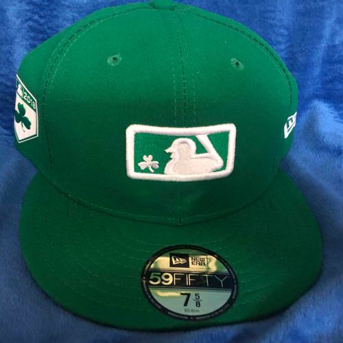 Photo of UMPS CARE AUCTION: MLB Specialty St. Patrick's Day Umpire Cap, Green, Size 7 5/8