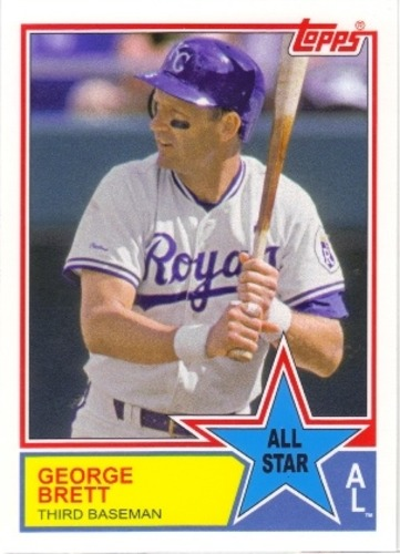 Photo of 2013 Topps Archives 1983 All-Stars #GB George Brett