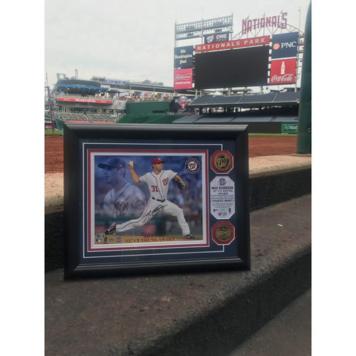 Photo of Max Scherzer Autographed Frame