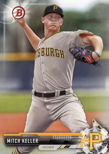 Photo of 2017 Bowman Prospects #BP66 Mitch Keller