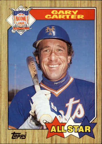 Photo of 1987 Topps #602 Gary Carter AS