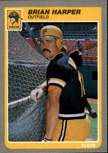Photo of 1985 Fleer #466 Brian Harper