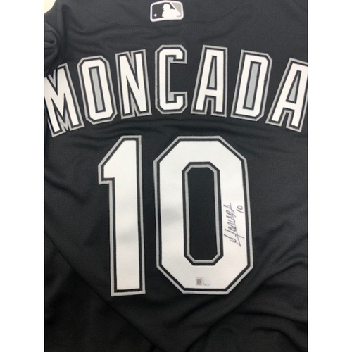 Photo of Yoan Moncada Autographed Jersey