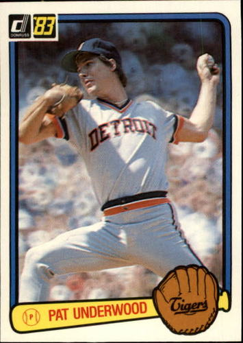 Photo of 1983 Donruss #29 Pat Underwood