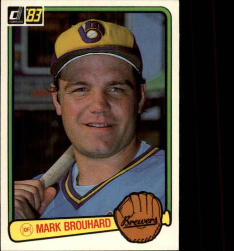 Photo of 1983 Donruss #532 Mark Brouhard