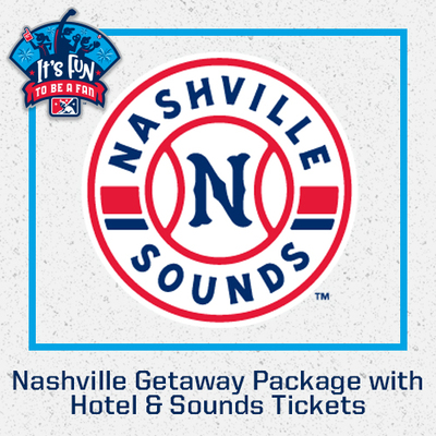 Nashville Getaway Package with Hotel & Sounds Tickets