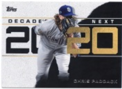 Photo of 2020 Topps Decade's Next #DN25 Chris Paddack