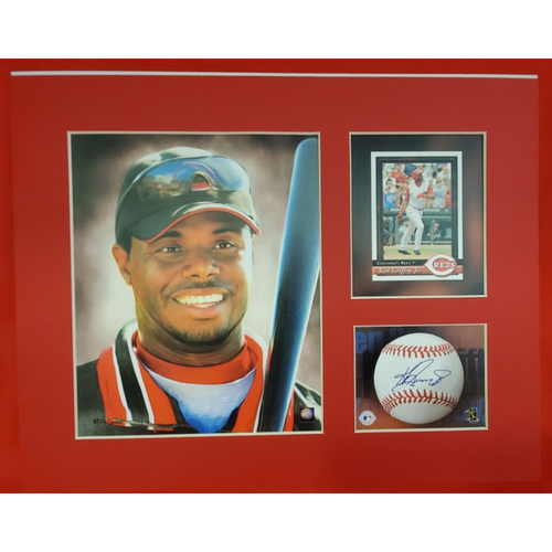 Photo of Matted Ken Griffey Jr. Portrait - 11x14