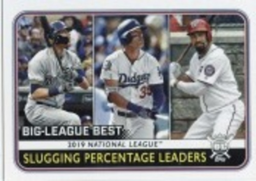 Photo of 2020 Topps Big League #252 Anthony Rendon/Cody Bellinger/Christian Yelich LL
