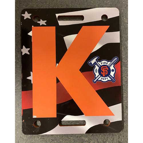 Photo of 2019 Fire Fighter Appreciation Night K Board