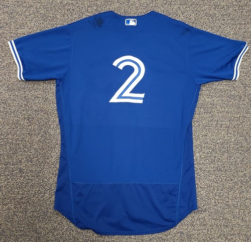 Photo of Authenticated Team Issued 2020 Spring Training Jersey: #2 Joe Panik. Size 46