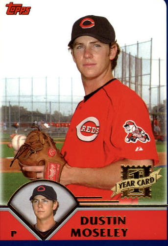 Photo of 2003 Topps Traded #T183 Dustin Moseley FY RC