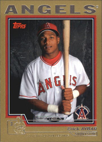 Photo of 2004 Topps Traded Gold #T171 Erick Aybar FY