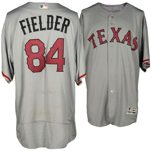 new concept 32ed8 0af1b MLB Auctions | Prince Fielder Texas Rangers Game-Used 4th of ...