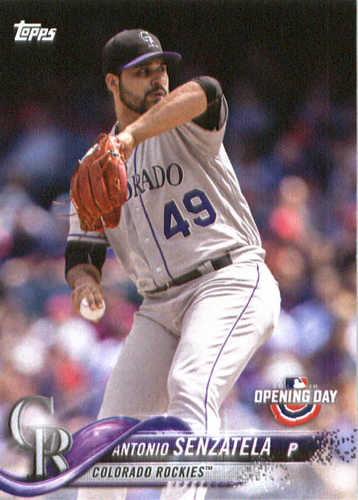 Photo of 2018 Topps Opening Day #43 Antonio Senzatela