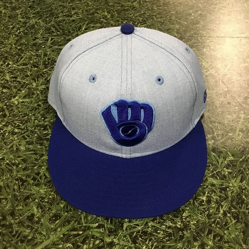 Photo of Josh Hader Team-Issued 2018 Father's Day Cap