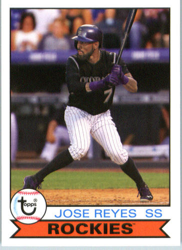 Photo of 2016 Topps Archives #114 Jose Reyes