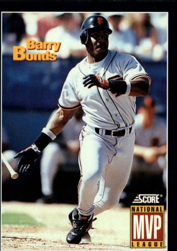 Photo of 1994 Score #632 Barry Bonds MVP