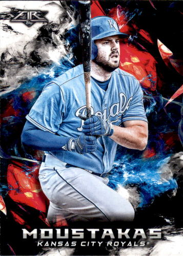Photo of 2018 Topps Fire #157 Mike Moustakas