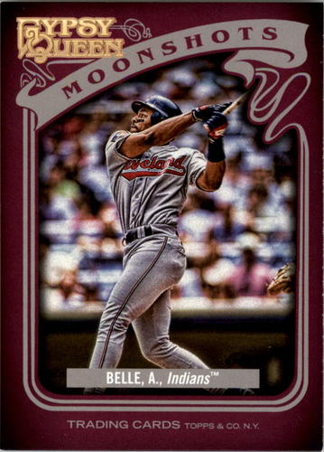 Photo of 2012 Topps Gypsy Queen Moonshots #AB Albert Belle