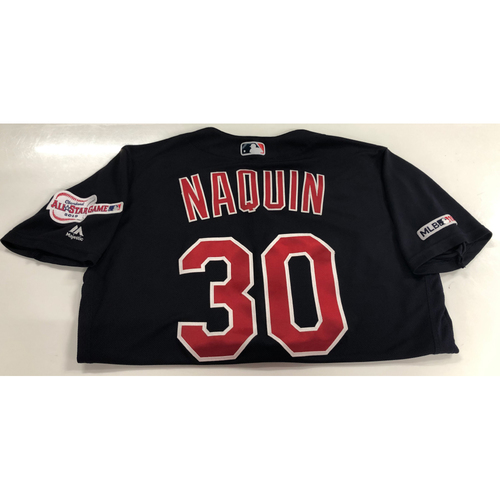 Tyler Naquin Game Used 2019 Opening Day Jersey 3/28/19