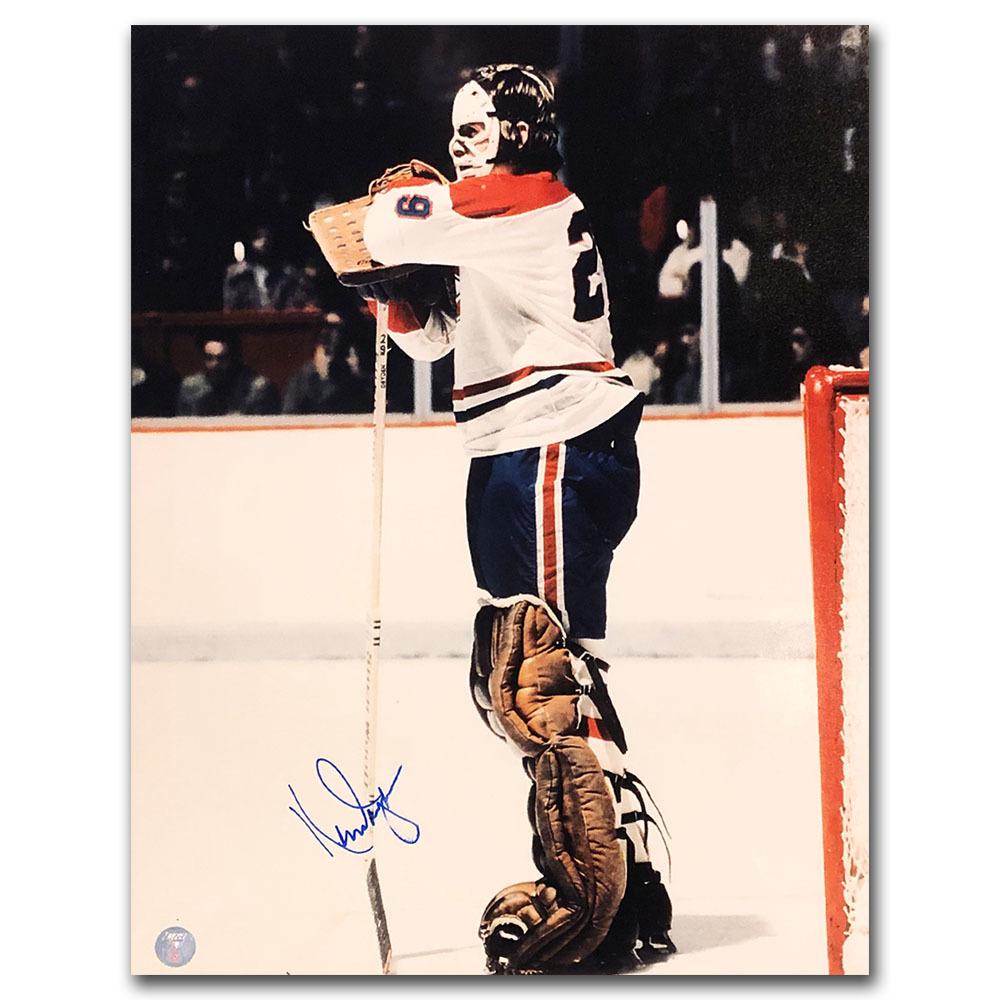 Ken Dryden Autographed Montreal Canadiens 11X14 Photo