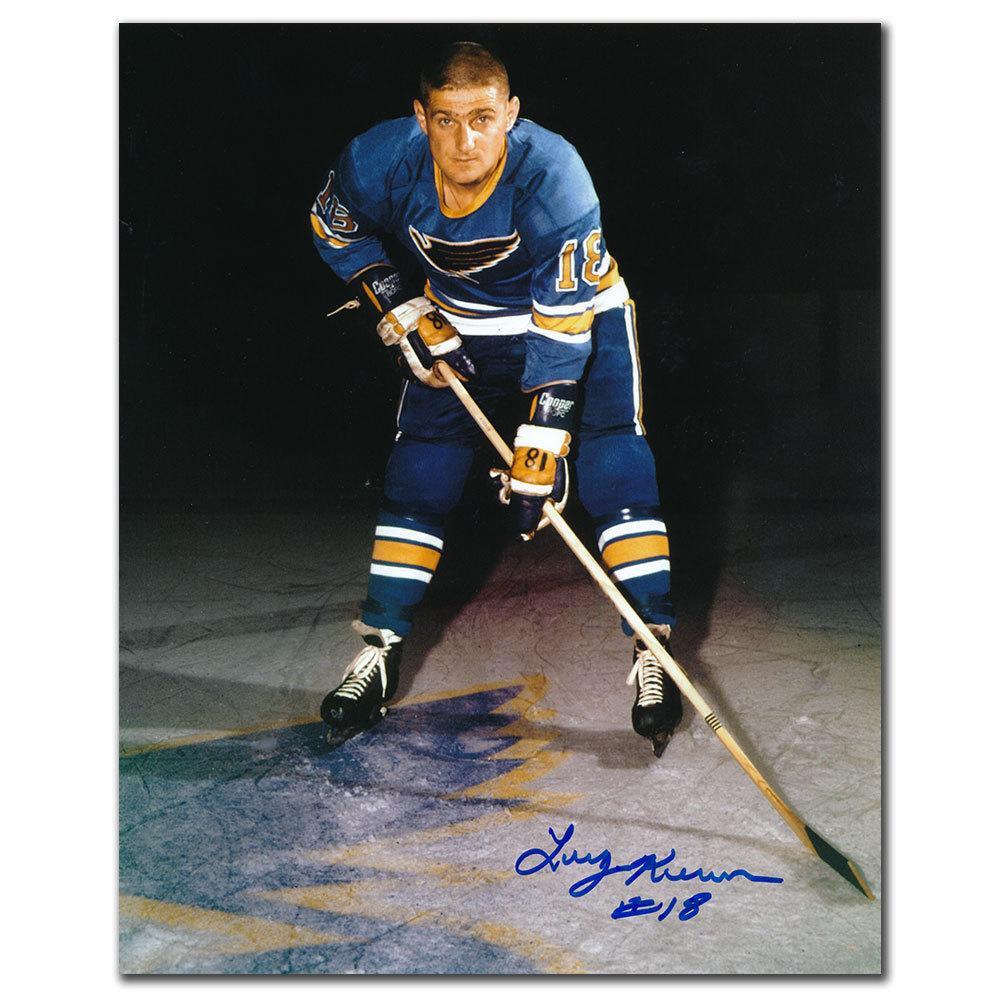 Larry Keenan St. Louis Blues Autographed 8x10