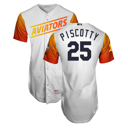 Photo of Stephen Piscotty #25 Las Vegas Aviators 2019 Home Jersey