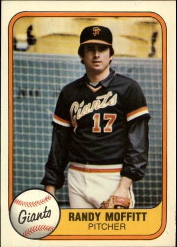 Photo of 1981 Fleer #446 Randy Moffitt