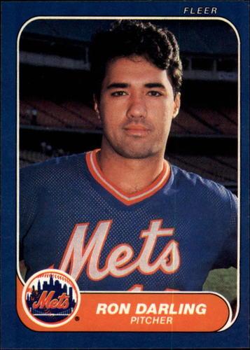 Photo of 1986 Fleer #77 Ron Darling