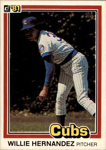 Photo of 1981 Donruss #589 Willie Hernandez