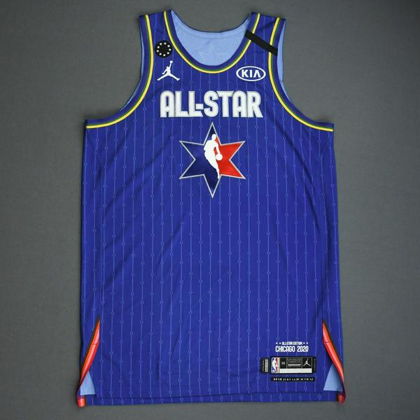 Image of LeBron James - 2020 NBA All-Star - Game-Worn Jersey Charity Auction - Team LeBron - 1st and 2nd Quarter - NBA Record 16th All-Star Game Start