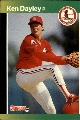 Photo of 1989 Donruss #299 Ken Dayley