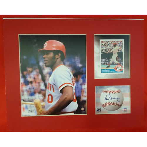 Photo of Matted Ken Griffey Sr. - 11x14