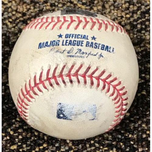 Photo of 9/8/20 Game-Used HOME RUN Baseball, Los Angeles Dodgers at Arizona Diamondbacks: Kole Calhoun Hits His 9th Home Run of the Season off of Walker Buehler