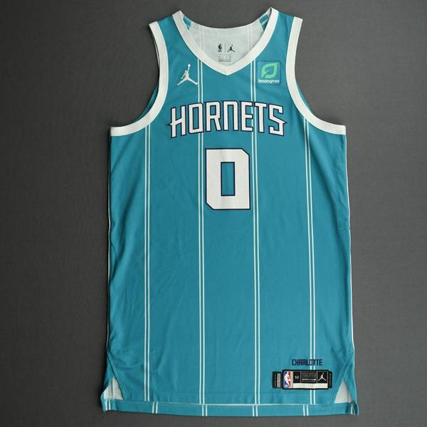 Image of Miles Bridges - Charlotte Hornets - Game-Worn Icon Edition Jersey