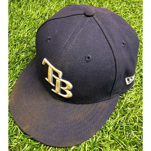 Photo of Team Issued TB Cap: Joey Wendle #18