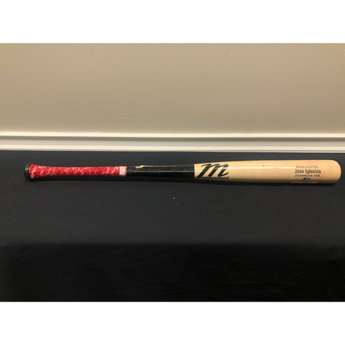 Jose Iglesias -- Game-Used Broken Bat -- 09/20/19 - NYM vs CIN - 2nd Inning - deGrom to Iglesias (Ground Out)