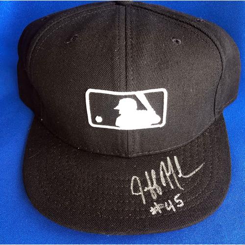 Photo of UMPS CARE AUCTION: Jeff Nelson Signed MLB Base Cap, 7 1/2