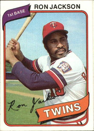 Photo of 1980 Topps #18 Ron Jackson